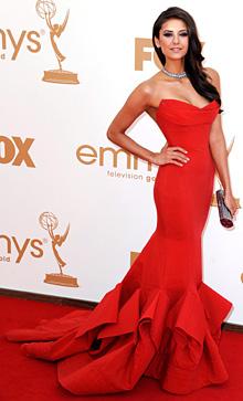 Нина Добрев - най-елегантната знаменитост на Emmy Awards 2011