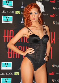 Бельото на Триумф внесе щипка изящество и съблазън на Фестивала на модата и красотата Варна 2011