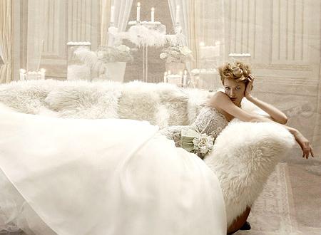 Прическата на младоженката да е в ретро стил