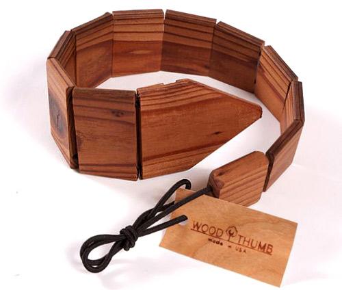 За мъжете вече има дървени вратовръзки