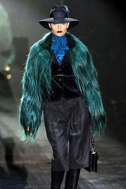 Седмицата на модата в Милано започна с ярка колекция есен-зима 2011 от Гучи