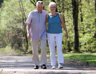 Бързо ходене за по-дълъг живот