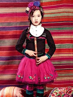 Матрьошките вдъхновяват детската мода за есен-зима 2011/2012