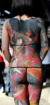Създадоха математически модел за остаряването на татуировките