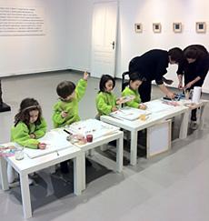 Скулптура за деца със свободен достъп в галерия ЮЗИНА