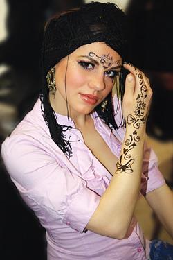 Как се прави арабски грим на очи