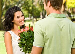 Цветята - ключ към женското сърце