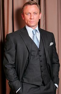 Актьорът Даниел Крейг оглави класация за най-добре облечена екранна звезда
