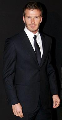 Дейвид Бекъм - най-сексапилният мъж за 2012