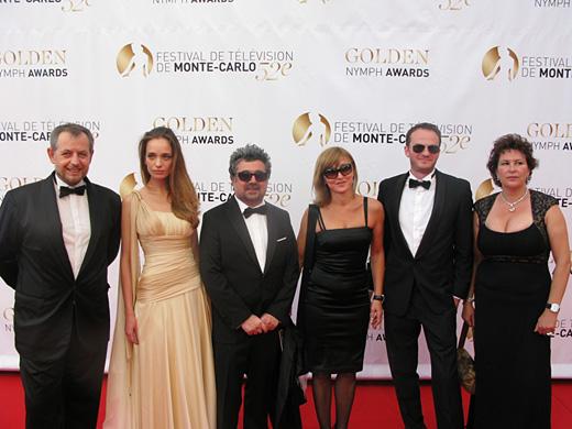 Ирена Милянкова блесна на червения килим в Монте Карло