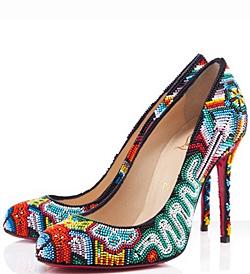 Лубутен отново привлече погледи с новата колекция обувки за пролет-лято 2012