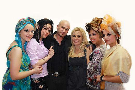 Арабска екзотика в грима за пролет-лято 2012