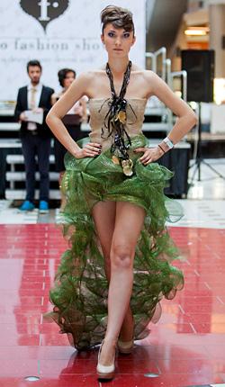 Екзотично модно шоу в молдовската столица Кишинев