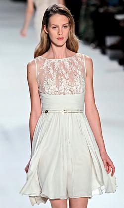 Модни тенденции пролет-лято 2012
