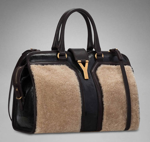 Ив Сен Лоран предлага чанта с овча вълна за есен-зима 2012/2013