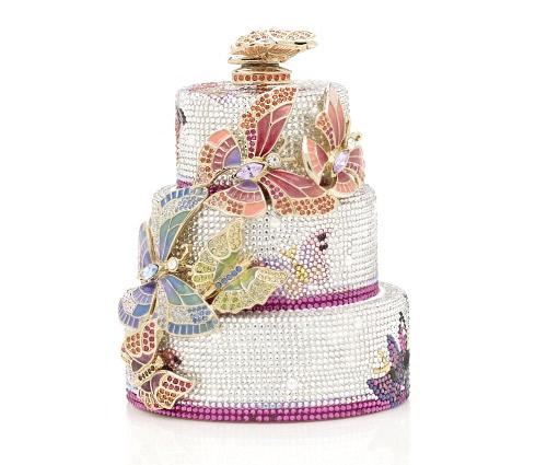 Луксозна чанта торта от Judith Leiber