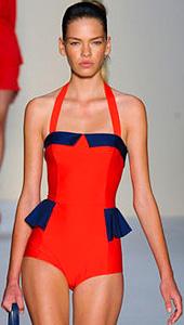 Модни тенденции 2012 - бански костюми