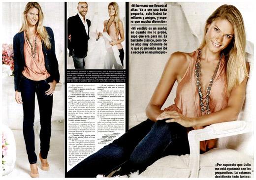 Хулио Хосе Иглесиас се ожени за своята годеница - белгийският топ модел Чариз Верхаерт