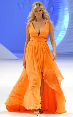 Цветовете на лято 2012 - цвят мандарина
