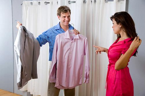 Мъжът се познава по цвета на дрехата