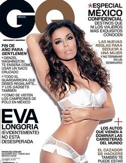 Ева Лонгория на корицата на списание GQ по бельо
