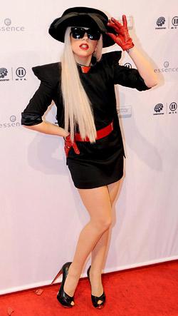 Щурите визии на Лейди Гага