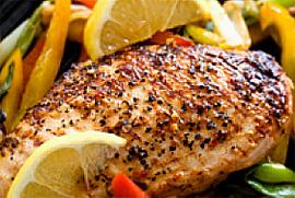 Пилешко месо, риба и зеленчуци за по-дълъг живот