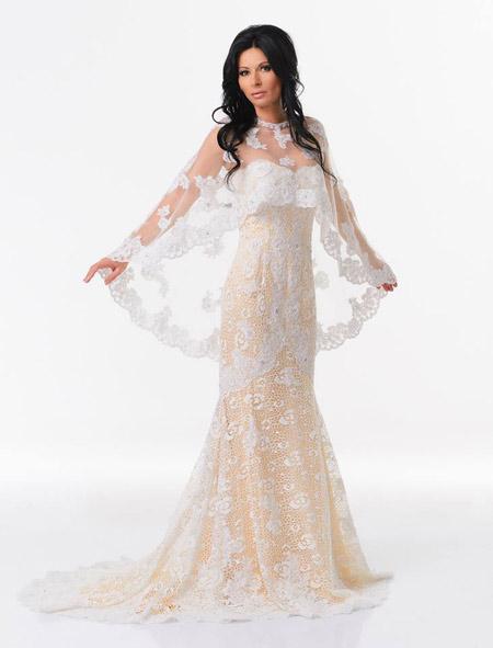 """Катя Роуз– Лице на """"СВАТБА"""" в уникална рокля на JOVANI"""