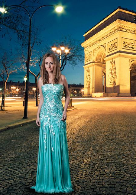 Жана Жекова с фотосесия от Париж