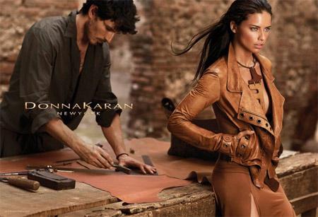 Адриана Лима - лице на Donna Karan