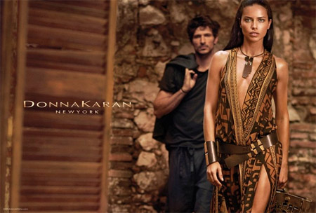 Adriana Lima is the new face of Donna Karan