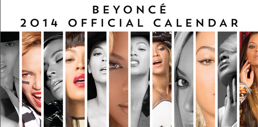 Beyonce and her first calendar shoot