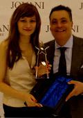 Bridal Fashion с награда от Jovani