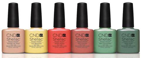 Нова колекция и модерни цветове в маникюра за Пролет 2014 от CND