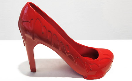 Chilean designer presented his new shoes collection inspired by his ex-lovers