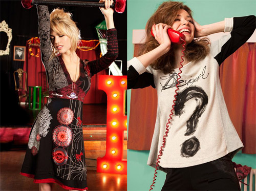 Desigual for Autumn/Winter 2013-2014