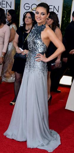 Golden Globes 2014 - celebrities' garments