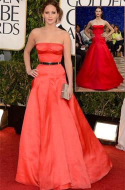 Дженифър Лоурънс продължава работата си с Dior