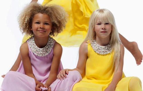 Жан-Пол Готие с колекция висша мода за деца за Пролет-Лято 2014