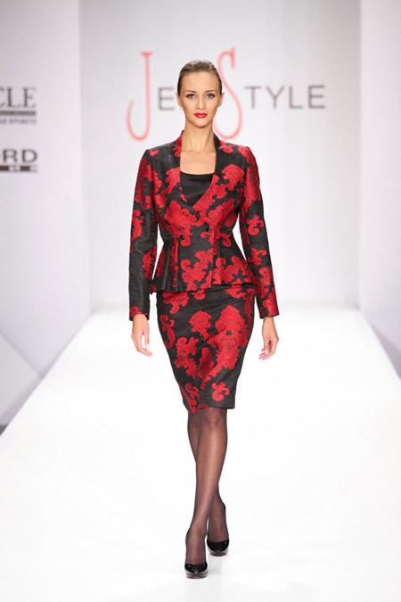 """Код червено- модна къща """"Жени стил"""" представя колекция Есен/Зима 2013-2014"""