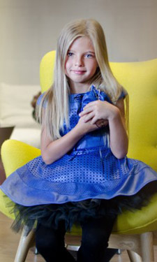 Dress your little princess from fashion house Junona