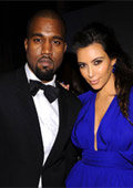 Kim Kardashian and Kanye West are going to surprise with a Christmas card