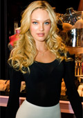The Victoria's secret angel Candice Swanepoel talks about the models