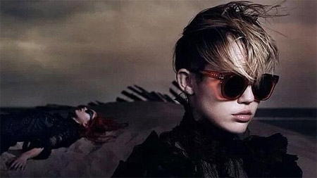 Miley Cyrus is the new face of Marc Jacobs