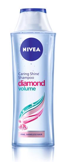 Сияен диамантен блясък и свръх лек обем с Nivea Diamond Volume