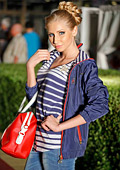 The Festival of Fashion and Beauty 2013 presented the new collection of U.S. POLO