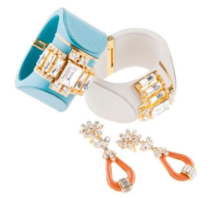 Prada with jewelry collection for Spring 2014