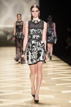 Glamour in the Autumn/Winter 2013-2014 collection by Roberto Cavalli