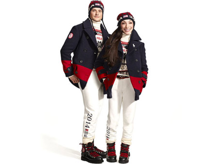 Ralph Lauren presented the Olympic teams