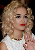 R&B singer Rita Ora is the new face of Madonna`s